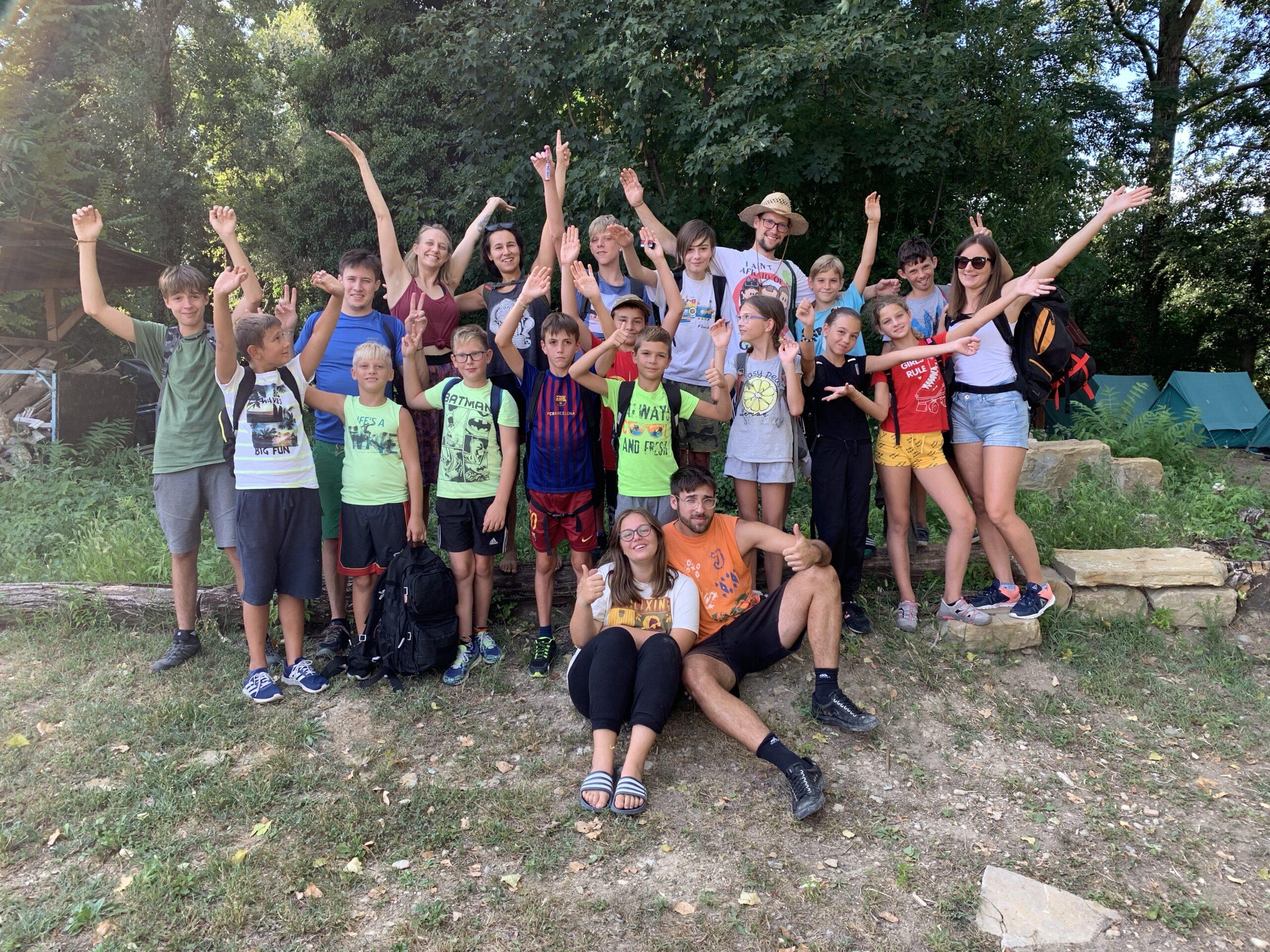 Izvedba 2. zelenega kampa za otroke
